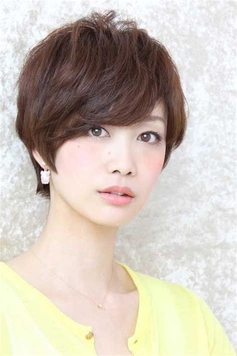popular pixie haircuts  asian  face