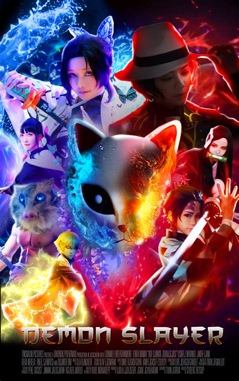 kimetsu  yaiba  action  poster fanmade
