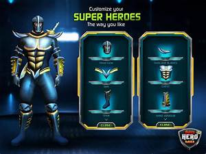 Superhero, Maker, 3d, For, Android