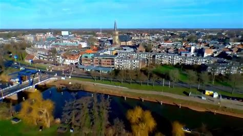 Not long after the town became fortified and got a church that was part of the episcopal principality of utrecht. Doetinchem centrum van boven - YouTube
