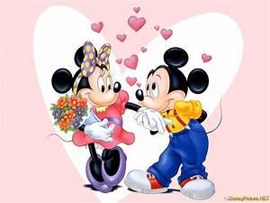 minnie mickey love picture, minnie mickey love wallpaper