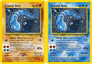 Crystal Onix (Fake Card) by icycatelf on DeviantArt