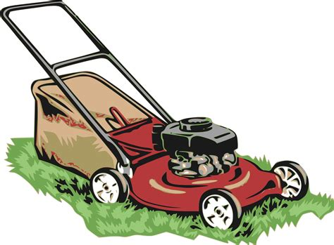 Lawn Mower Clip Clipart Lawnmower