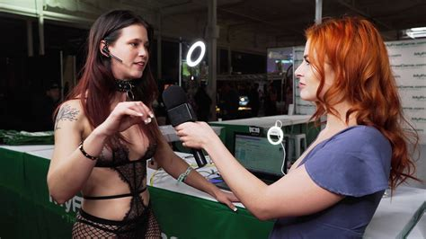 Everything To Do With Sex Show 2019 Interview 1 Isabelle Babe 4k Youtube