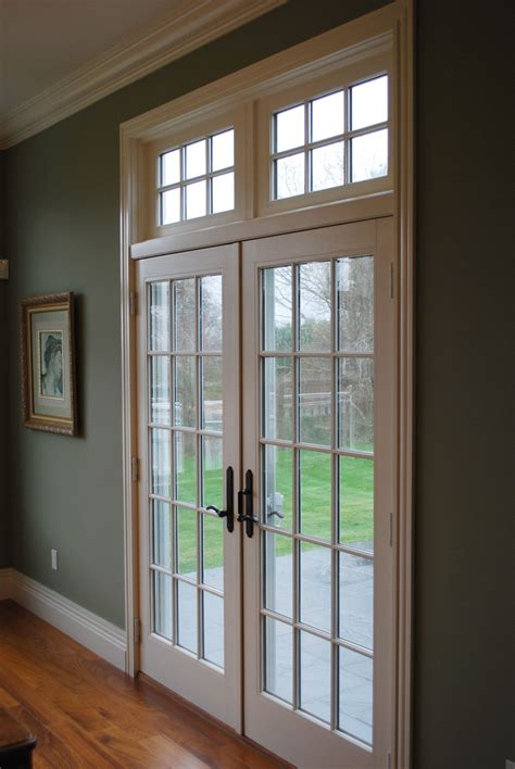 large french doors  transom windows frenchdoors