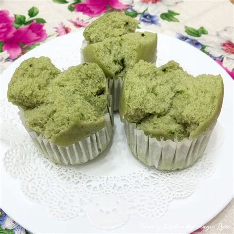 matcha steamed rice cake recipe kitchenbowl