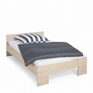 120 Cm Bett : composad bett calisma 120 x 200 cm esche holzoptik online kaufen bei woonio ~ Markanthonyermac.com Haus und Dekorationen