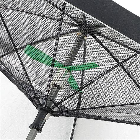 patio umbrella fan solar powered patio umbrella shade by