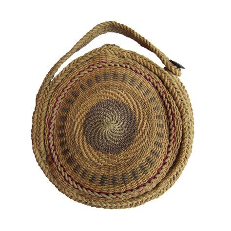 woven twirl basket  purse   stdibs