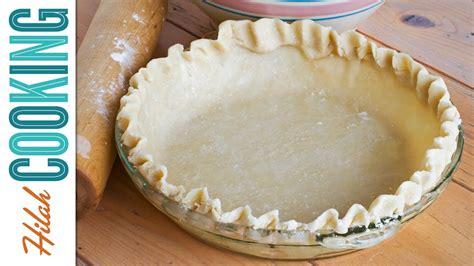 I'm sharing my grandma's homemade pie crust recipe! All-Butter Pie Crust Recipe - Hilah Cooking