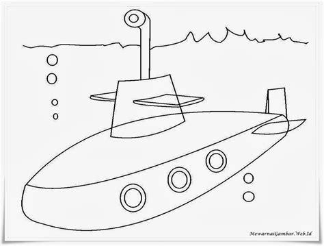 Gambar Kapal Selam Untuk Diwarnai Brad Erva Doce Info