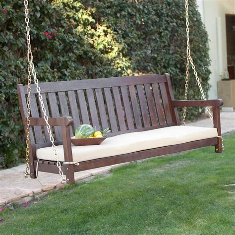 porch swing with cushions outdoor swing cushions 5ft home design ideas