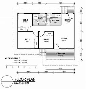 small house plans 3 bedrooms homes floor plans With house of three bedrooms plan