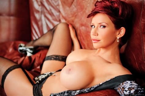 Wallpaper Bianca Beauchamp Big Tits Sexy Lingerie Boobs Stockings Redhead Hooters Hot