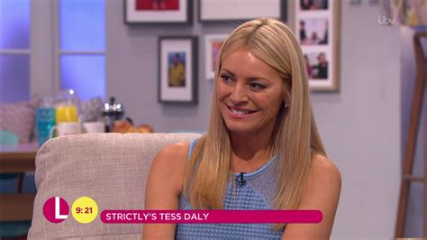 Strictly's Tess Daly cut off mid-sentence during Lorraine ...