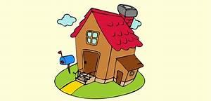 Maison dessin couleur wwwpixsharkcom images for Dessin de petite maison