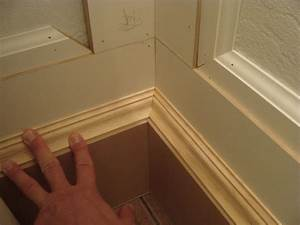 11 how to miter baseboard molding the joy of moldingscom With how to install baseboard trim in bathroom