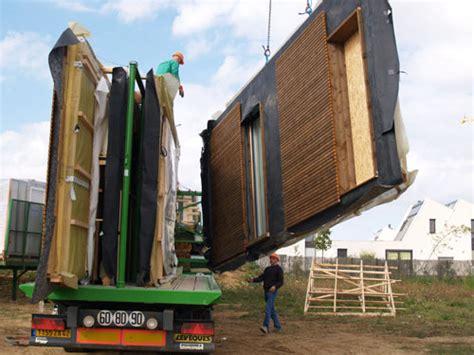 maison en panneaux de bois maison bois passive constructeur maison passive en bois