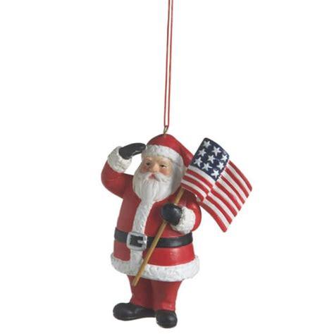 bureau vallee cambrai patriotic santa ornament midwest cbk