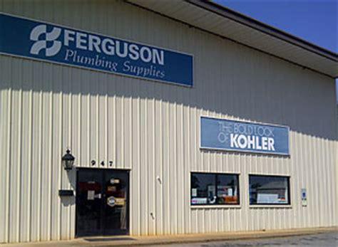 ferguson plumbing supplies exterior storefront entrance 947 w st forest city nc