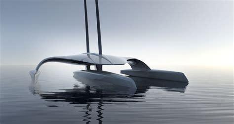 Trimaran Ocean Sailing by Coming Attraction Ocean Crossing Autonomous Trimaran