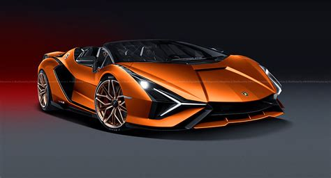lamborghini sian fkp  spyder reportedly   works  sold  carscoops