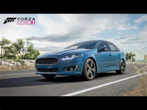 forza horizon  test drive ford fusion  youtube