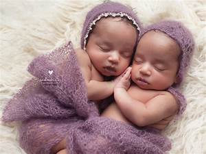 Identical Twin Girls!!!! {Columbus Ohio Newborn ...