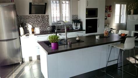 cuisine moderne blanc laqué cuisine blanc laqué 5 photos lisa136
