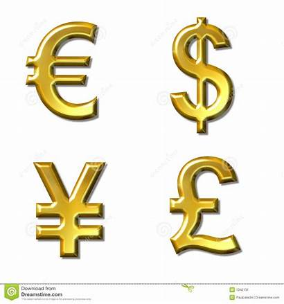 Currency Symbols Euro Yen Dollar Pound Signs