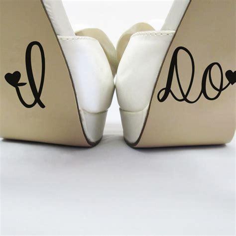 I Do Wedding Decor Wedding Decal Shoe Cup Stickers Wedding