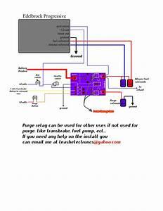 Edelbrock Progressive Wiring Diagram