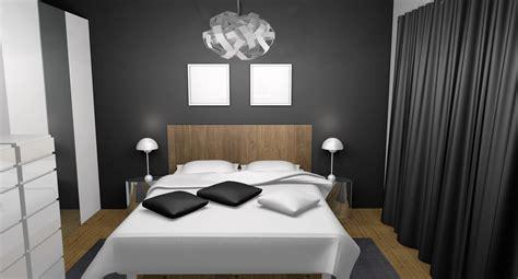 chambre adulte moderne chic laqu 233 blanc gris teck deco chbre parents chambre