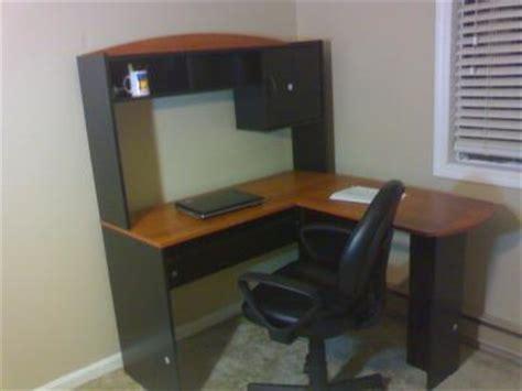 shaped computer desk walmart  woodworking