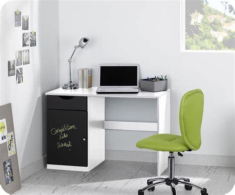 bureau blanc bureau enfant cargo blanc mobilier ecologique et gain de