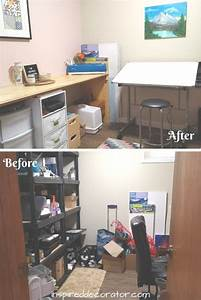 Home, Office, Makeover, Before, And, After