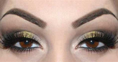 smokey eyes marrone  oro step  step beautydea