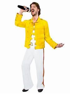 80er Mode Herren : 80er jahre rockstar kost m jackett weiss gelb g nstige faschings kost me bei karneval megastore ~ Frokenaadalensverden.com Haus und Dekorationen