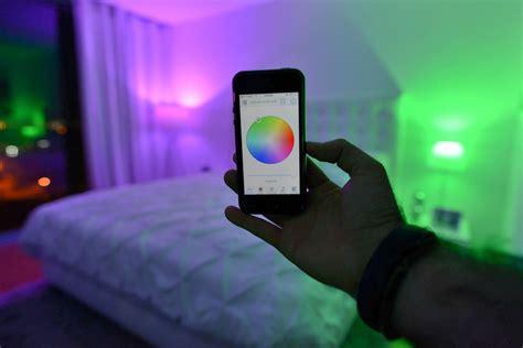 instantly adjust  mood   home   million color light bulb video freshomecom