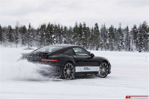 drift porsche 911 gtspirit bucket list porsche winter driving experience