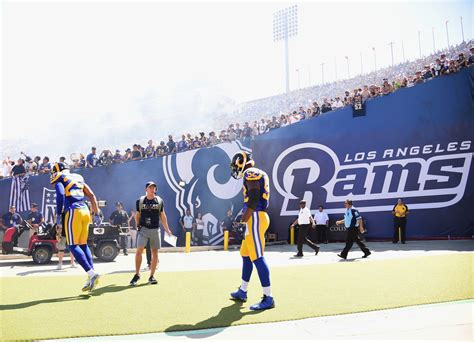 nfl london  los angeles rams hope  rediscover