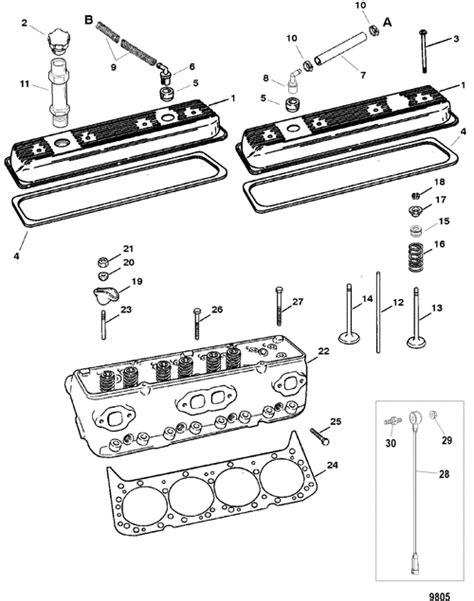 Marine Parts Plus Mercruiser Serial 5.0L MPI ALPHA-BRAVO