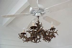 Chandelier stunning ceiling fan antler