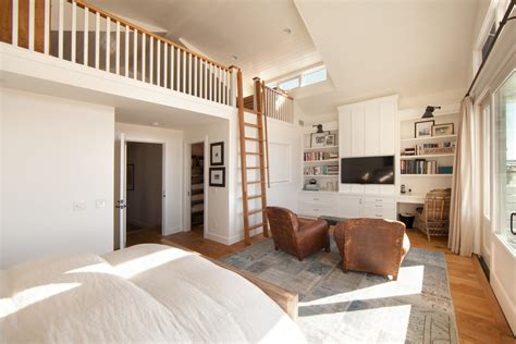 Magnificent Loft Bed Plans Method Orange County Beach Style Bedroom Inspiration With Brown