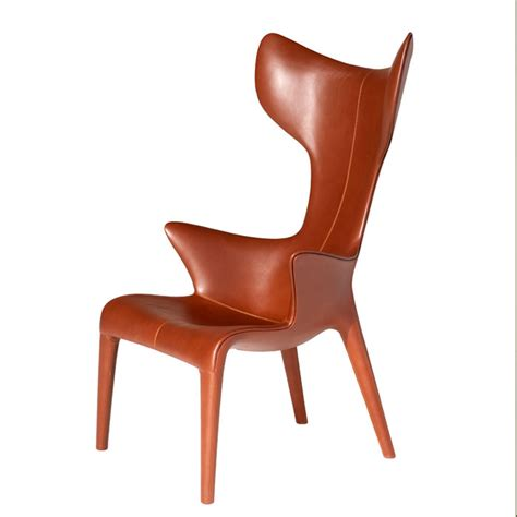 Philip Starck Stuhl by Driade Philippe Starck Lou Read Leather Armchair