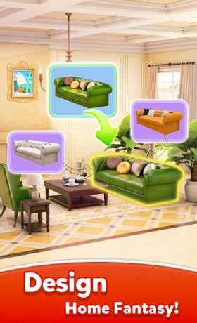 home fantasy dream home design game  apk mod android