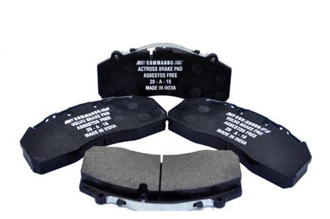 asbestos  semi metallic disc brake pads set