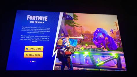 patched    save  world game mode  fortnite