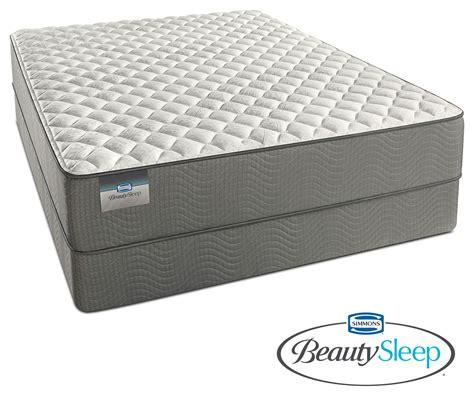 value city mattress alpine white firm mattress and foundation set value