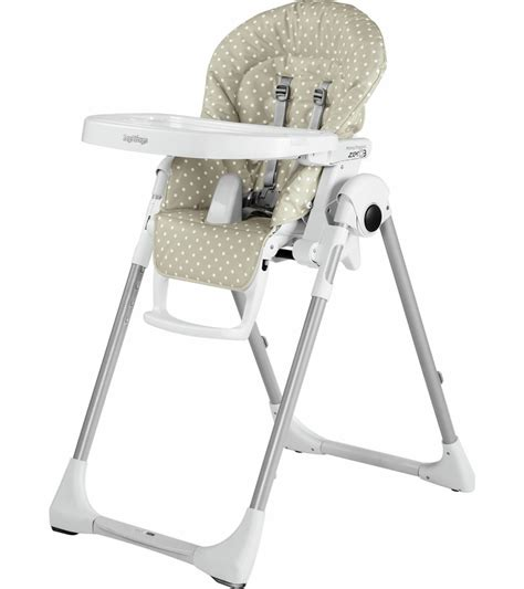 Peg Perego Prima Pappa High Chair by Peg Perego Prima Pappa Zero 3 High Chair Baby Dot Beige